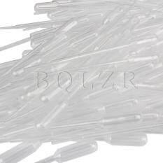 Plastic Pipette Dropper Set Of 100 เป็นต้นฉบับ