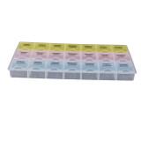 โปรโมชั่น รายยึดยาเม็ดพลาสติกกล่องยากล่องเก็บเคส ใน จีน