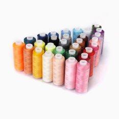 ขาย Polyester Sewing Quilting Threads 40S 2 Pack Of 30 Spools Assorted Colors ใน Thailand