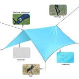 ซื้อ Portable Anti Uv Tent Outdoor Waterproof Oxford Sun Shade Sail Blue Unbranded Generic เป็นต้นฉบับ