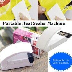 ราคา Portable Household Mini Sealing Machine Heat Sealer Capper Food Saver For Plastic Bags Package Mini Gadgets Intl ออนไลน์