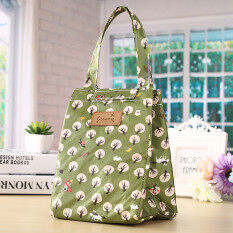 โปรโมชั่น Portable Insulated Thermal Cooler Lunch Box Tote Storage Bag Picnic Container Green Intl Unbranded Generic ใหม่ล่าสุด