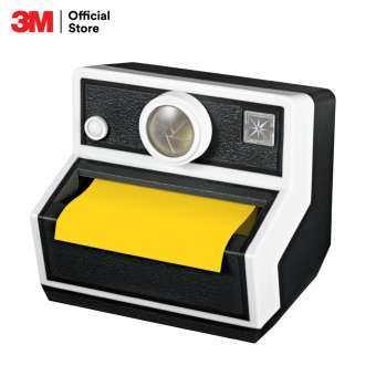 Post-it® Pop-up Camera Dispenser (CAM-330 Black) for 3 x3  Notes แท่นโพสต์-อิท® ป๊อบ-อัพ โน้ต รุ่นกล้องถ่ายรูป สีดำ