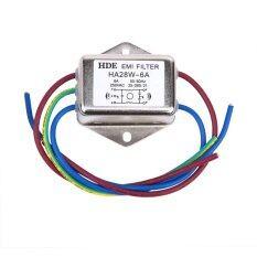 ซื้อ Power Emi Filter Ha28W 6A 50 60Hz 250V Ac ถูก ใน จีน
