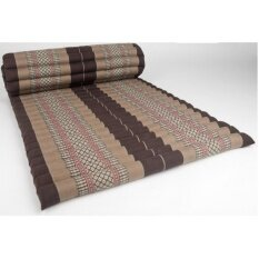 ราคา Praemai ที่นอนระนาดแบบม้วนเก็บได้ ขนาดกว้าง 110 X ยาว 180 สีน้ำตาล Praemai ใหม่