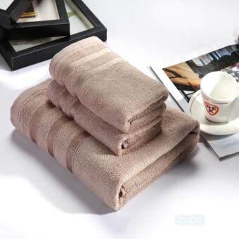 เส้นใยไม้ไผ่สีม่วงเข้มอาบน้ำผ้าเช็ดตัวผ้าเช็ดตัว