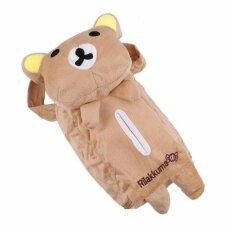 กระเป๋าใส่กระดาษทิชชู กล่องใส่กระดาษทิชชู ที่เก็บกระดาษทิชชู แบบแขวนได้ By Yz Tek.