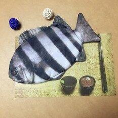 ราคา บุคลิกภาพใหญ่ปลาคาร์พชายและหญิงนักเรียนกระเป๋าเครื่องเขียนดินสอ เป็นต้นฉบับ Zakka