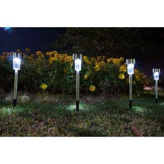 โคมไฟในสวน ไฟทางเดินเข้าบ้าน ไฟนอกบ้าน ไฟสนามหญ้า ไฟโซล่าร์เซลล์ พลังงานแสงอาทิตย์ เปิด ปิด อัตโนมัติ มีเซนเซอร์
