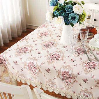 โมเดิร์นด้านที่ละลายน้ำได้สไตล์ยุโรปปกผ้าม่านผ้าปูโต๊ะ