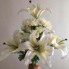 ดอกไม้ช่อผสมสีขาว กรุงเทพมหานคร