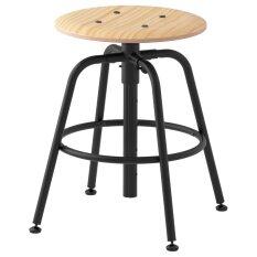 คุลลาแบร์ย เก้าอี้สตูล, ไม้สน, ดำ