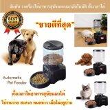 ส่วนลด เครื่องให้อาหารสุนัข เครื่องให้อาหารอัตโนมัติ เครื่องให้อาหารหมา เครื่องให้อาหารสุนัขตั้งเวลา อัดเสียงเรียกได้ ไทย