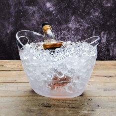 ขาย บาร์เรลโปร่งใสถังน้ำแข็งขนาดใหญ่ทรัมเป็ตแก้วไวน์ต่างประเทศ Unbranded Generic