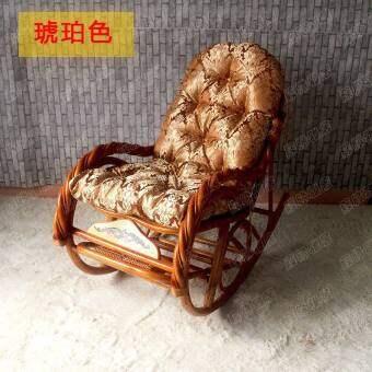 Rattan Rocking Chair Cushion Loungers Cushion Rocking Chair Cushion Universal Washable Rocking Chair Cushion Thickening Warm Winter