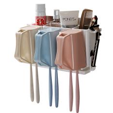 ขาย ฟันถ้วยเก็บเข้าลิ้นชักห้องน้ำถือแปรงสีฟันผนังดูด Unbranded Generic ใน ฮ่องกง
