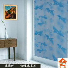 สติกเกอร์สติกเกอร์หน้าต่างกระจกฝ้าห้องน้ำโปร่งแสง เป็นต้นฉบับ