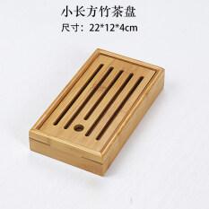 ขนาดใหญ่และขนาดกลางถาดชงชาทำด้วยไม้ไผ่ถาดรองชาไซส์เล็กการจัดเก็บข้อมูลระบายน้ำท่วมนอง.