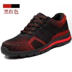 รองเท้านิรภัยผู้ชาย หัวเหล็ก ยี่ห้อzhencheng By Taobao Collection.