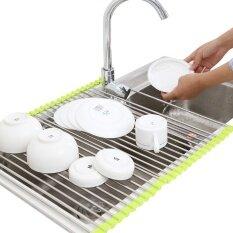 ซื้อ กรองน้ำห้องครัวชั้นวางท่อระบายน้ำอ่างล้างจาน Zhiwu จาน ใหม่