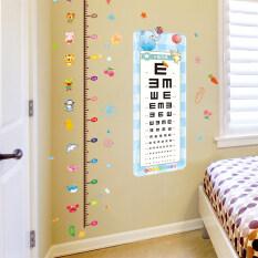 ขาย เด็กห้องพักห้องนอนผนังตกแต่งวัดความสูงสติกเกอร์ผนังสติกเกอร์ ฮ่องกง ถูก
