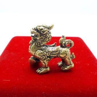 หัวใจราชสีห์ คชสีห์ สิงห์ หยิบเงิน ทอง ปี่เซียะ ผีซิ้ว เนื้อทองเหลือง