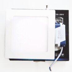PS-LED โคมไฟฟ้าดาวไลท์ LED ชนิดฝังฝ้าหน้าสี่เหลี่ยม 15cmx15cm ขนาด 9W แสง Daylight รุ่น Blaze