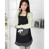 ซื้อ Pudding Korean Version Of The Bow Apron Black Intl Unbranded Generic ถูก