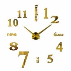 ซื้อ Purify นาฬิกาติดผนังสไตล์โมเดิร์นแบบเรียบง่าย ขนาด90Cm X90Cm สีทอง Purify