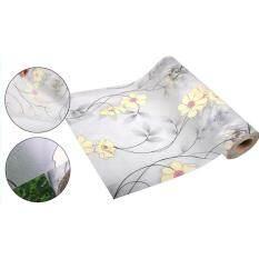 สติ๊กเกอร์ติดกระจกแต่งบ้านโปร่งแสง หน้ากว้าง90เซน ยาว2เมตร เนื้อ Pvc มีกาวในตัว .