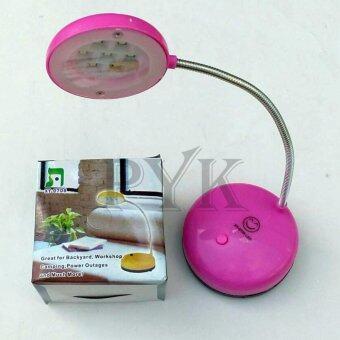 PYK โคมไฟ LED 7 ดวง ตั้งโต๊ะ คละสี 3 ชิ้น