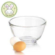 Pyr-O-Rey ชามแก้วสำหรับผสมอาหารขนาด 6.6 ผลิตจาก Tempered Glass ซึ่งมีความแข็งแรงกว่าแก้วธรรมดาถึง 5 เท่า  .