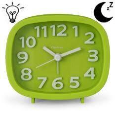 ขาย Q Shop Alarm Clock 3 Quartz Analog Alarm Clock With Night Light Ultra Small Silent With No Ticking Intl จีน ถูก