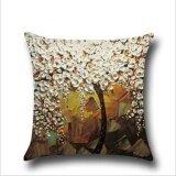 ราคา Qq Oil Painting Pillow Case White Intl ออนไลน์ จีน