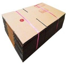 ขาย Quickerbox กล่องไปรษณีย์ พัสดุ ลูกฟูก ฝาชน ขนาด C 62 ใบ Unbranded Generic ออนไลน์