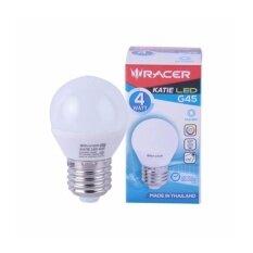 ราคา แพ็ค 4 หลอดRacer หลอดไฟประหยัดพลังงาน รุ่น Led G45 4W Light Bulb แสงขาว Racer เป็นต้นฉบับ