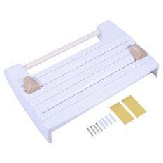 ราคา Refrigerator Cling Film Rack Shelf With Paper Dispenser Intl จีน