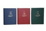 ขาย Relux แฟ้มเมนู อาหารปกหนังเพิ่มไส้ได้ 3 เล่ม รุ่น Mn 11 สีแดง น้ำเงิน เขียว ถูก
