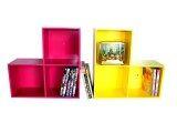 ขาย Relux หิ้งพระ Lego Dvd ใส่หนังสือการ์ตูน 3 ช่อง สีชมพู สีเหลือง 2ชิ้นDvdv 42 ออนไลน์