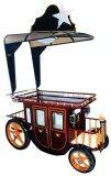 ขาย Relux รถเข็นเหล็ก สำหรับโชว์สินค้า เป็นเฟอร์นิเจอร์ รุ่น Napoleon สีน้ำตาลแดง ออนไลน์ ใน นครปฐม