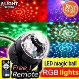 ซื้อ Remote Mini Led Magic Ball Lighting ไฟดิสโก้เทค ไฟปาร์ตี้ ไฟคาราโอเกะ ไฟเวที รุ่น Mq 03 Shop108 ถูก