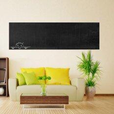ขาย กระดานชอล์กกระดานดำถอดสติกเกอร์ติดผนังไวนิลสติ๊กเกอร์กระดานดำ 60ซมNx 200ซม ออนไลน์ จีน