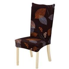 ซื้อ Removable Conjoined Stretchy Floral Home Stool Chair Seat Cover Intl Unbranded Generic ถูก