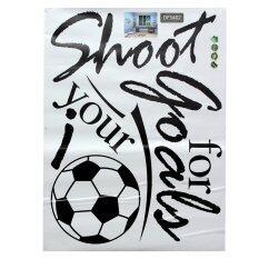 ราคา Removable Football Soccer Ball Letter Wall Stickers Art Decal Home Room Decor Intl เป็นต้นฉบับ Unbranded Generic