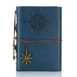 ราคา Retro Pirate Style Diary Book Spiral Ring Binder Notepad Unbranded Generic ออนไลน์