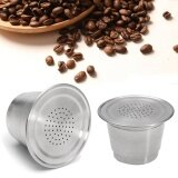 ขาย ซื้อ Reusable Stainless Steel Refillable Coffee Capsule Pod For Nespresso Machine New Intl ใน จีน