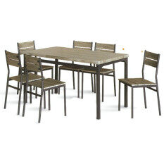 ราคา Rf Furniture ชุดอาหาร Salon ซาลอน 6ที่นั่ง ออนไลน์ กรุงเทพมหานคร