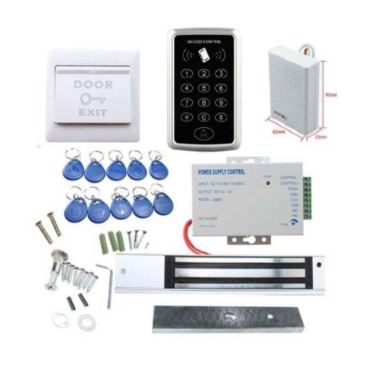 ราคา Full Rfid Door Access Control System Kit Set 180kg