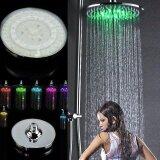 ขาย Rgb Led Flash Light 7Colors Changing 20Cm 8 Round Rain Shower Bath Head Intl จีน ถูก