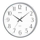 ราคา Rhythm นาฬิกาแขวนผนัง รุ่น Cmg817Nr19 สีบอร์นเงิน ใหม่